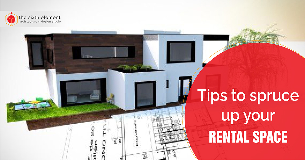 tips to spruce up your rental space